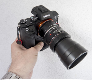 Elmarit R 90mm an Sony A7II