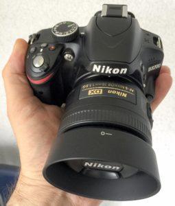 D3200 mit Nikkor 35/1,8 DX